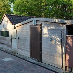 De Karweier - Renovatie tuinhuis voor 2