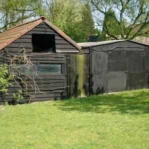De Karweier - Renovatie tuinhuis voor