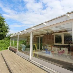 De Karweier - zinken dakgood - ceder - veranda 15