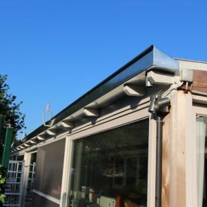 De Karweier - zinken dakgood - ceder - veranda 17