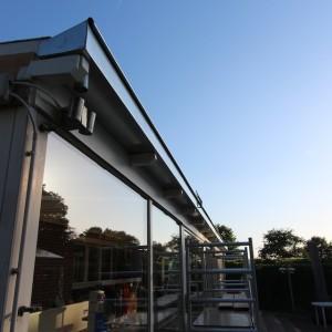 De Karweier - zinken dakgood - ceder - veranda 20