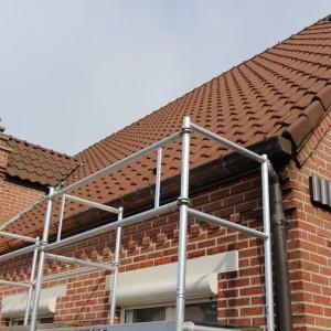 Karweier - Koperen dakgoten vervangen 1
