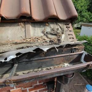 Karweier - Koperen dakgoten vervangen 7