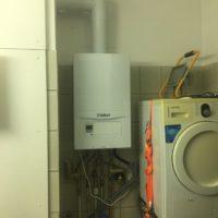 geplaatse condensatie ketel