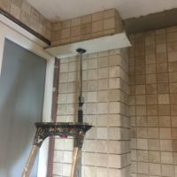 badkamer aanbouw - 2