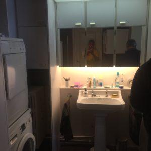 badkamer voor de werken - 1