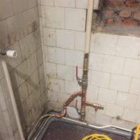 badkamer voor de werken - 2