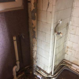 badkamer voor de werken - 4